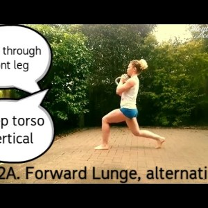 THE LUNGE - Top 10 Variations, arm positions, kettlebell holds