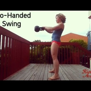 Two-Hand Kettlebell Swing - technique | demo