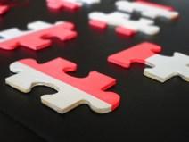 fluoro jigsaw decoration collection
