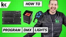 How To Program DMX Lights | Beginner DMX Lighting Tutorial