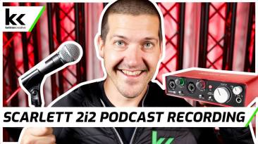 How To Record A Podcast With Scarlett 2i2 Audio Interface