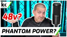 Does Audio Technica AT2020 Need 48v Phantom Power?