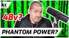 Does Shure SM7B Need 48v Phantom Power?