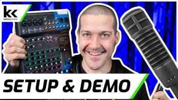 Electro-Voice RE20 & Yamaha MG10XU | Setup & Demo