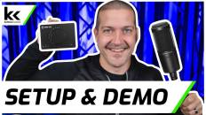 Elgato Wave XLR & Audio Technica AT2020   Setup & Demo