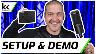 Elgato Wave XLR & Audio Technica AT2020 | Setup & Demo