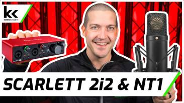 Focusrite Scarlett 2i2 And Rode NT1 Microphone