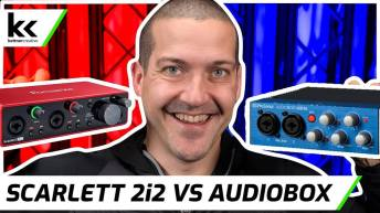 Focusrite Scarlett 2i2 VS PreSonus Audiobox USB 96