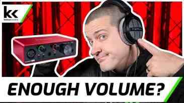 Focusrite Scarlett Solo & 250 Ohm Headphones   Review & Demo