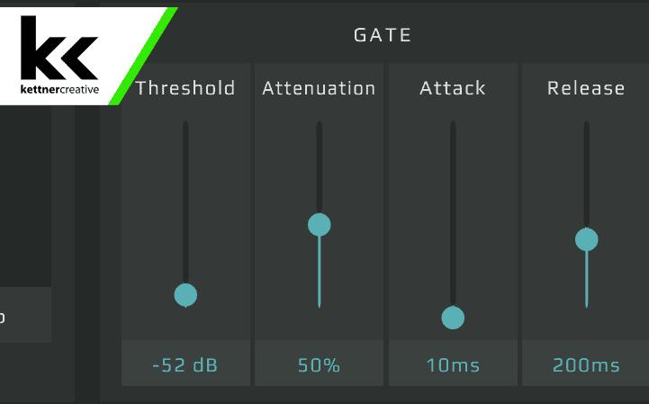 GoXLR Gate Settings