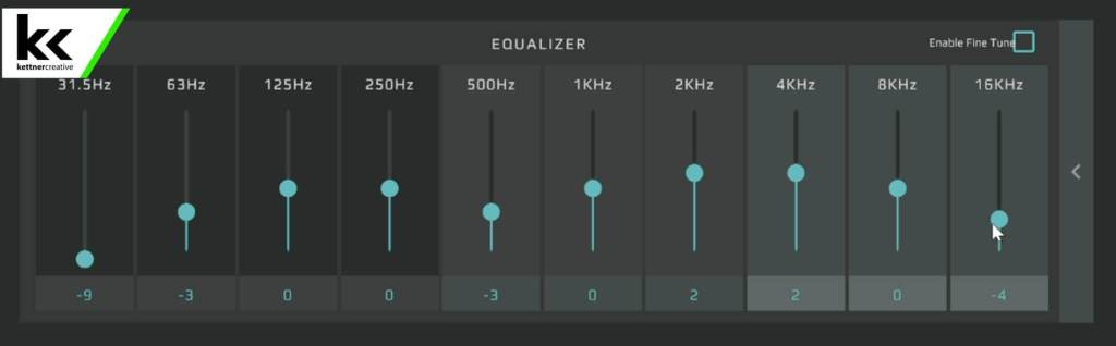 GoXLR SM7B EQ Setting