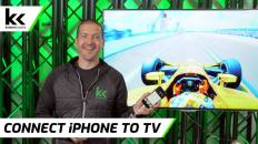 How To Connect An iPhone To TV