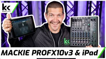 How To Connect Mackie ProFX10v3 to iPad