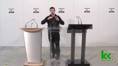 How To Select The Right Podium For Your Event (Wood, Acrylic, and Metal)