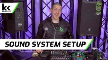 How To Setup A Sound System (Mackie ProFX SRT)