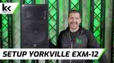 How To Setup Yorkville EXM-12 Battery Speaker