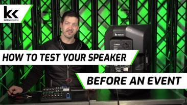 How To Test a Speaker Before an Event | Prep Audio Equipment