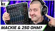 Mackie ProFX10v3 & 250 Ohm Headphones | Review & Demo