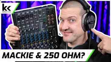 Mackie ProFX10v3 & 250 Ohm Headphones   Review & Demo