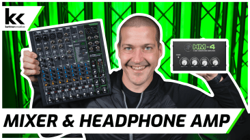 How To Connect Audio Mixer to Headphone Amp / Splitter