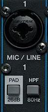 Pad Button Audio Mixer