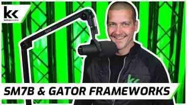 Shure SM7B Gator Frameworks 3000 Boom Arm | In-Depth Review