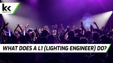What does a L1 (Lighting Engineer) do?