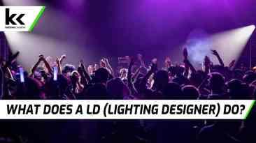 What does a LD (Lighting Designer) do?