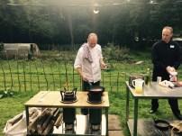 Rik Dortmond kookt op de Burnwise