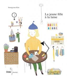 La jeune fille à la laine, Didier Jeunesse 2013