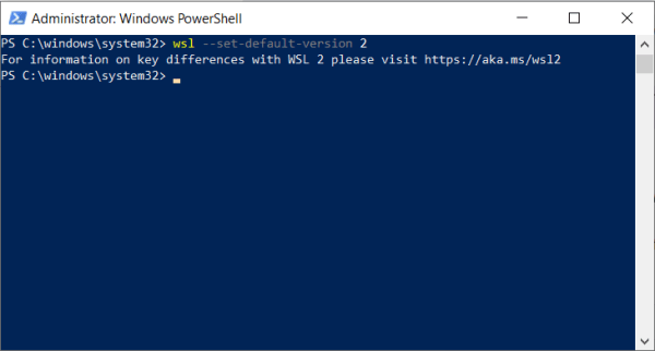 Windows Subsystem for Linux (WSL) - Home