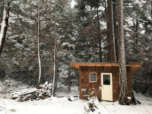 Snow covered on Salt Spring