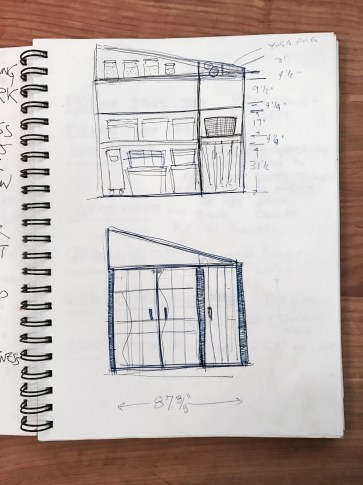 Ideas and drawings of mirco cabin