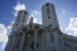 The cathedral in Hinche, the Central Plateau's biggest town.