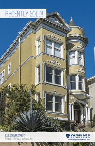 Large Alamo Square full-floor, updated and upgraded condo. Competitively won. Buyer Rep'd. $1,737,500.