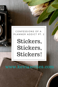 Confessions of a Planner Addict Pt. 2: Stickers, Stickers, Stickers!