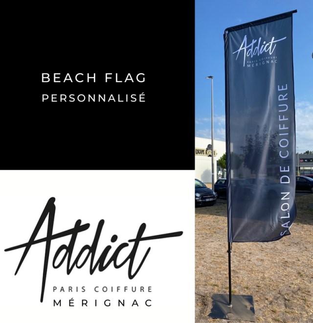 Beachflag-personnalise-toile-signaletique-addicto-coiffure-kevidocommunication
