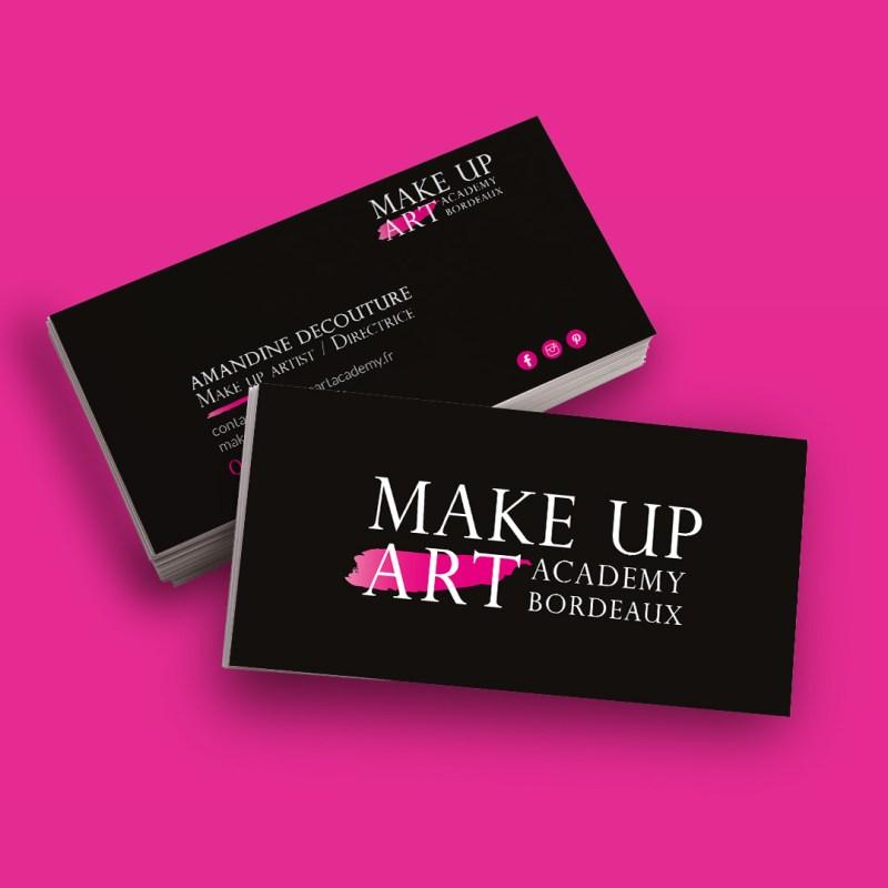 carte-visite-make-up-art-impression-graphisme-kevidocommunication