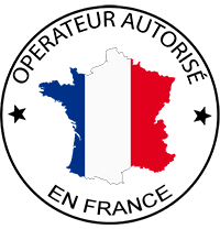 Pilote de drone agréé en France et à la Réunion