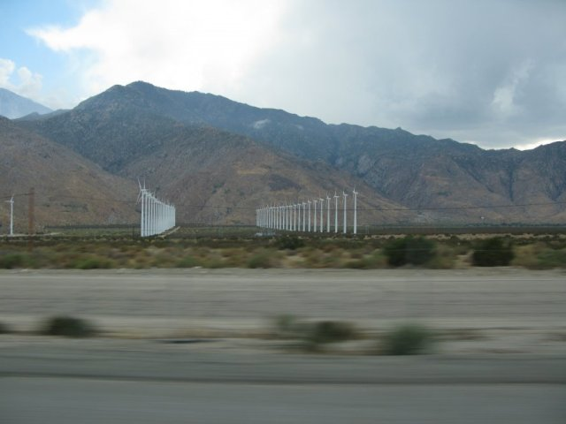 Wind Farms in the Morongo Basin