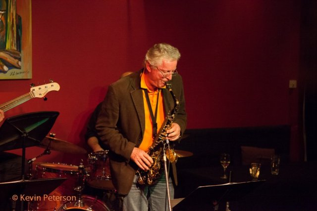 Roger Clark of the Roger Clark Quartet