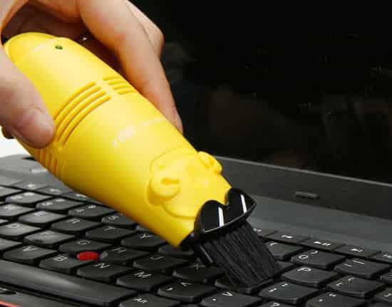 Särskild dammsugare för tangentbord
