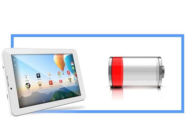 Por que o tablet é rapidamente descarregado - o que fazer, resolvendo o problema