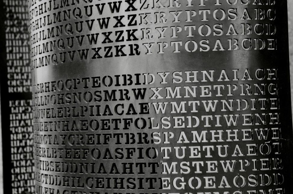 Kryptos sculpture, Smithsonian | wanderingYew2 | CC BY 2.0