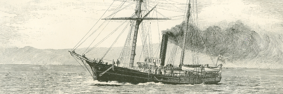 USRC Thomas Corwin, the ship that bombed Angoon