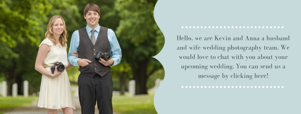 Message From Kevin and Anna Photography