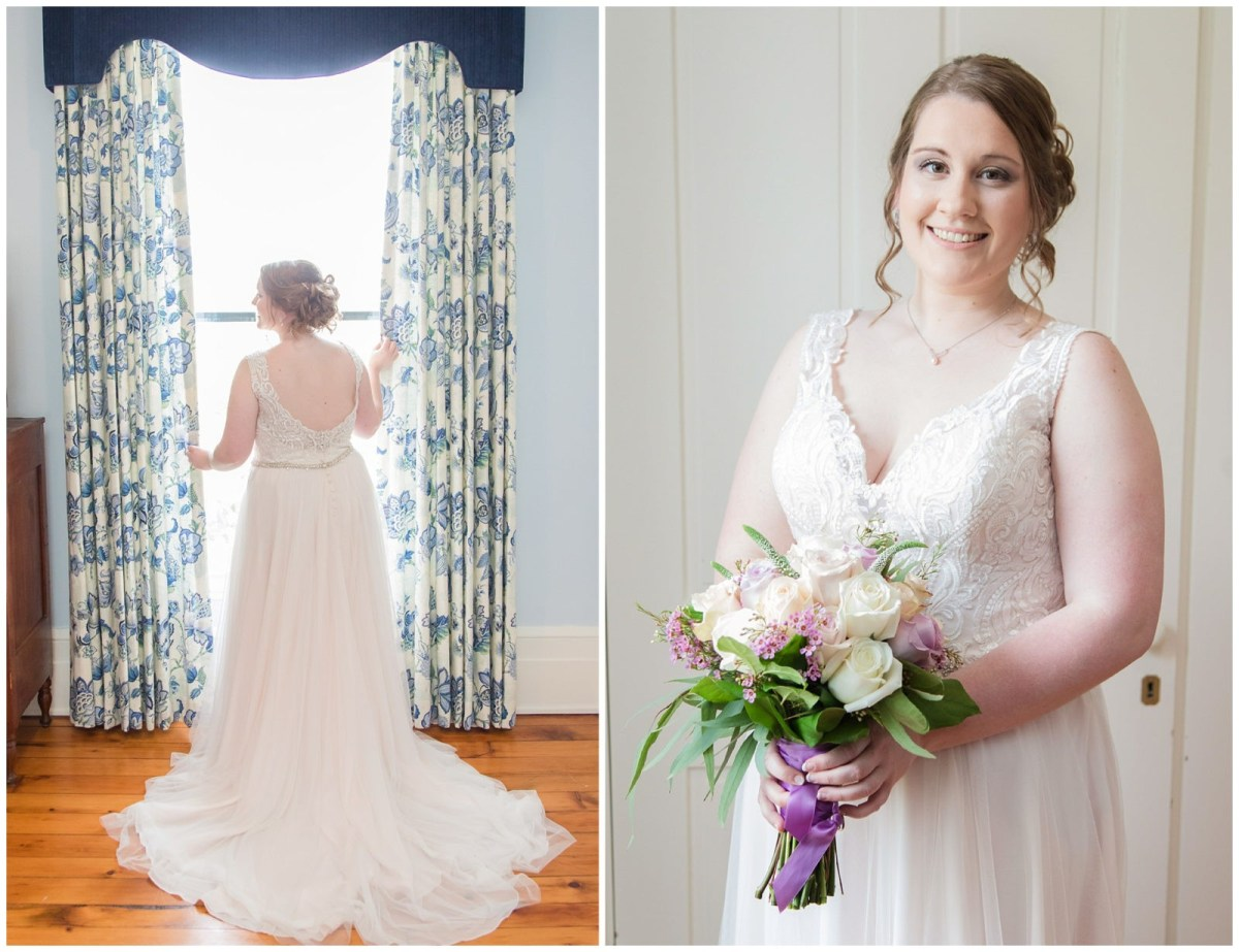 Bride Wedding Photos at Ashford Acres Inn in Cynthiana, Kentucky.