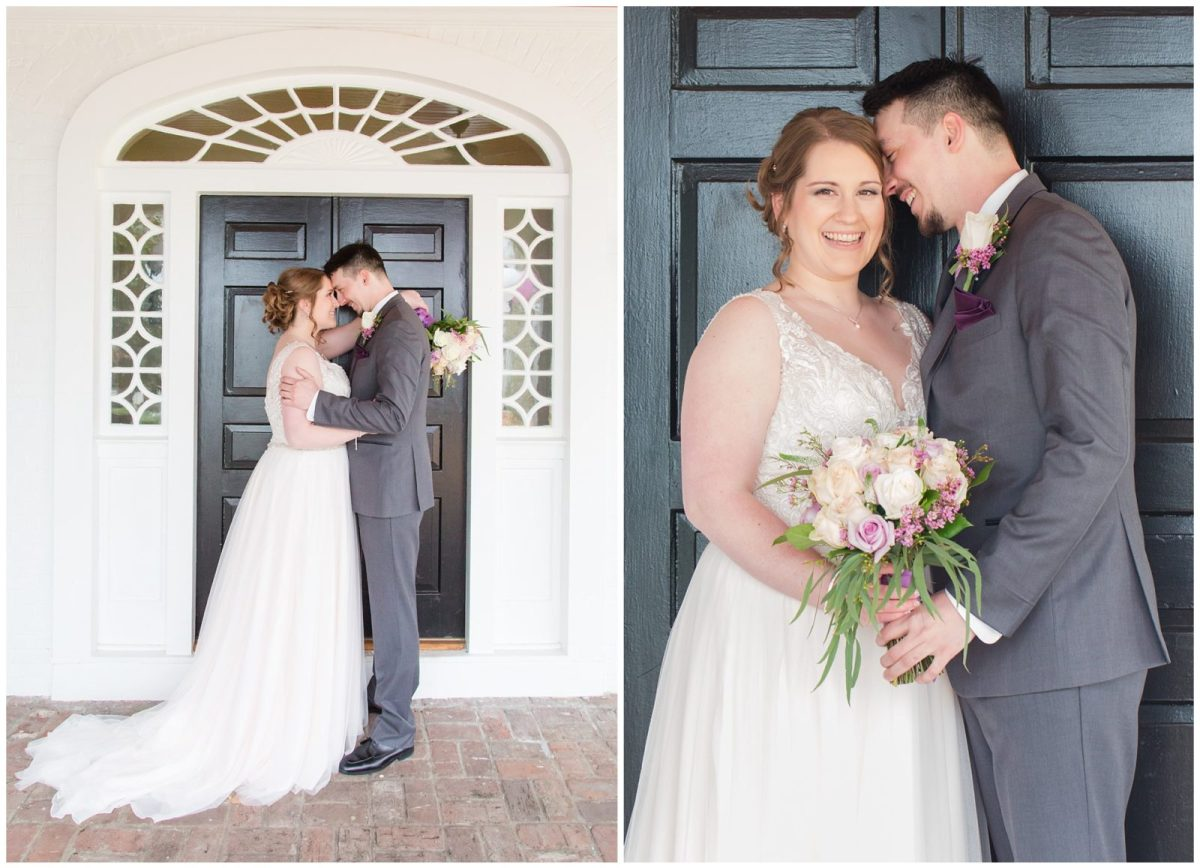 Bride and Groom Wedding Photos at Ashford Acres Inn in Cynthiana, Kentucky.