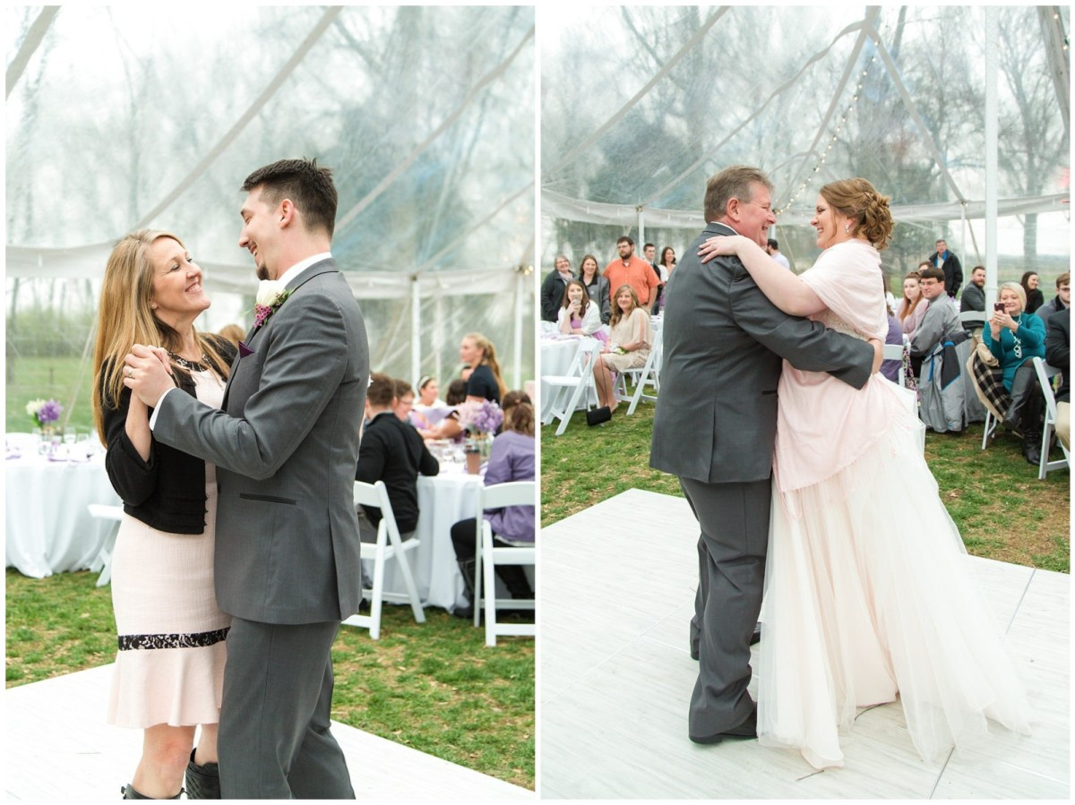 Wedding Reception Photos at Ashford Acres Inn in Cynthiana, Kentucky.
