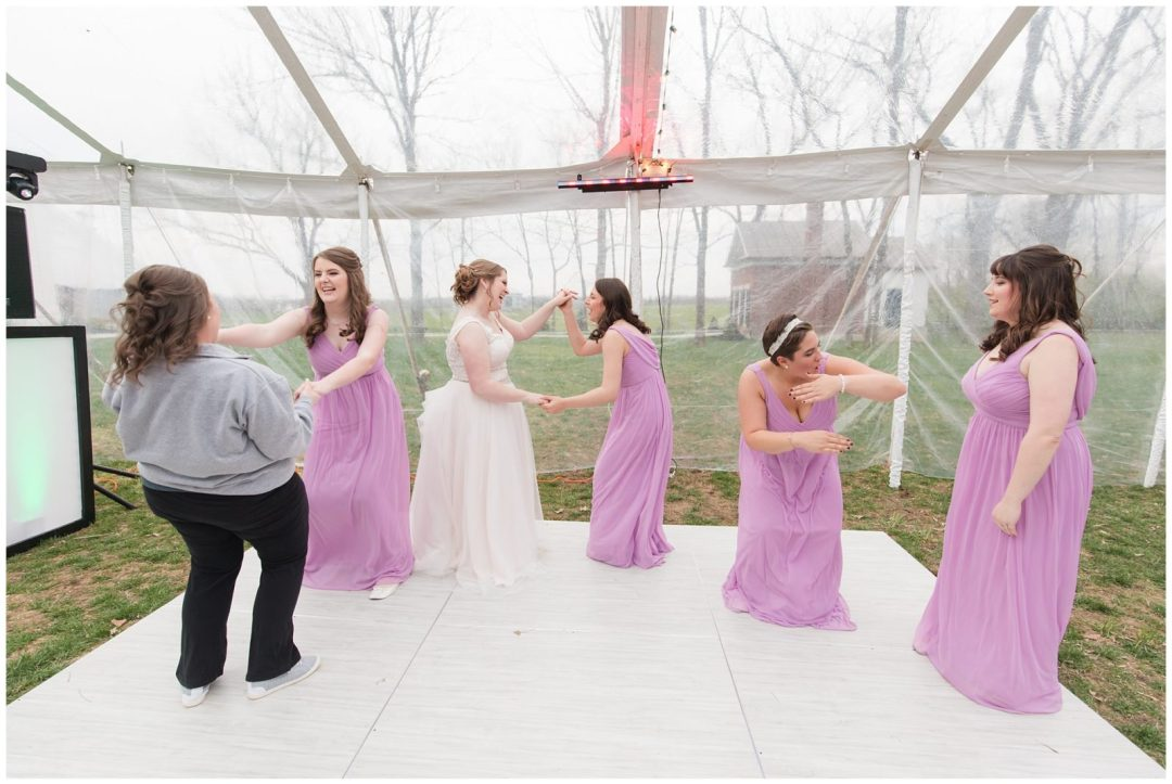 Wedding Reception Photos at Ashford Acres Inn in Cynthiana, Kentucky.